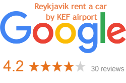 Reykjavik rent a car Google reviews by Reykjavik KEF airport